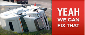 Trucks, Semi Trailers and RVs Repairs - Yes We Can Fix That